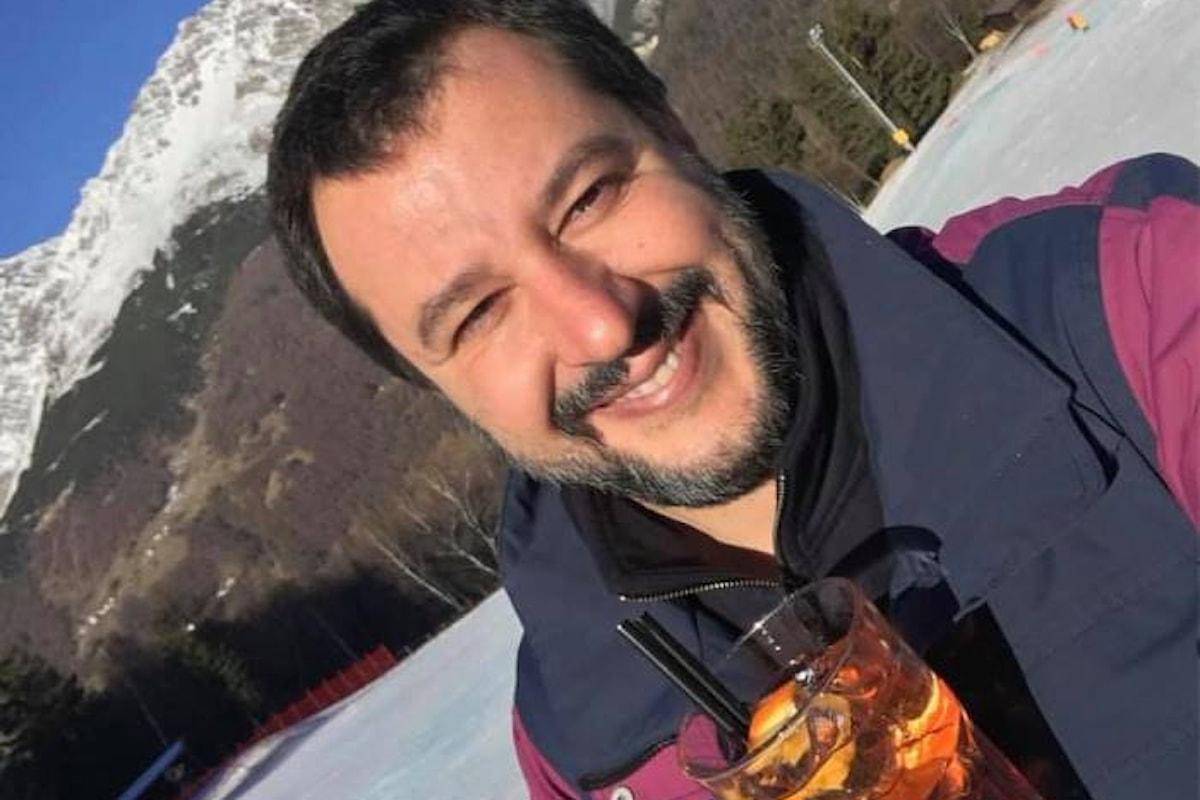 Leoluca Orlando ricorda a Salvini quando era lui a dire di disobbedire ad una legge dello Stato
