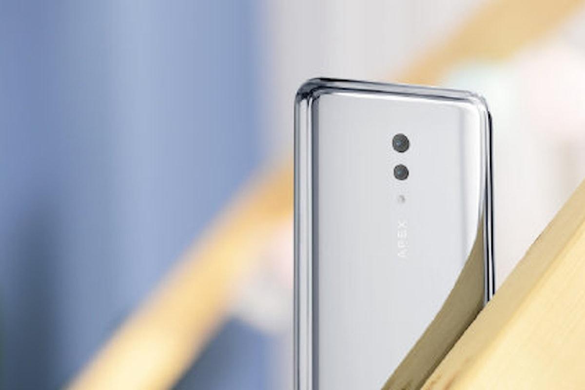 Vivo APEX 2019 ufficiale: un nuovo smartphone holeless che va a sfidare il Meizu Zero