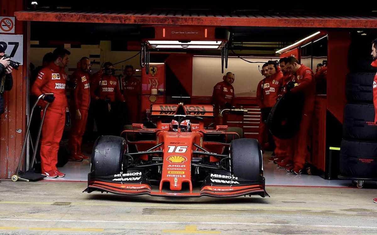 Formula 1. Ottimo avvio della Ferrari per i primi test del 2019 sul circuito di Catalogna