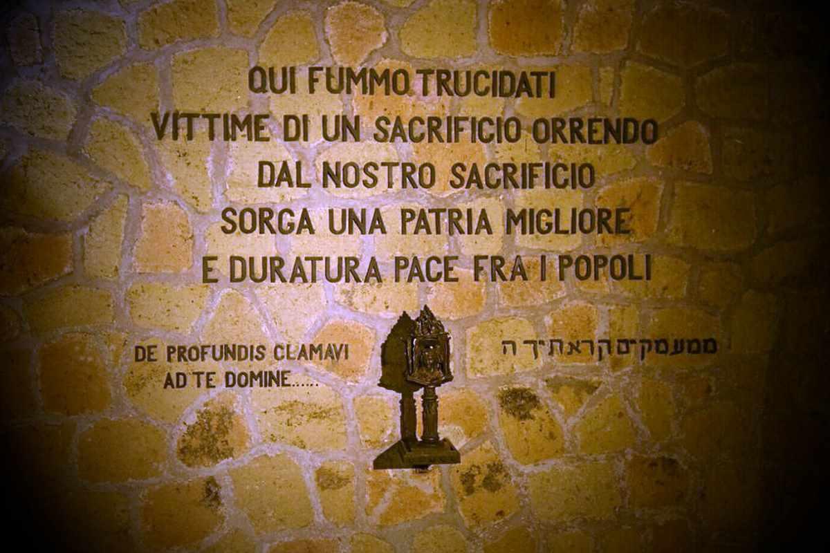 75 anni dall'eccidio delle Fosse Ardeatine...