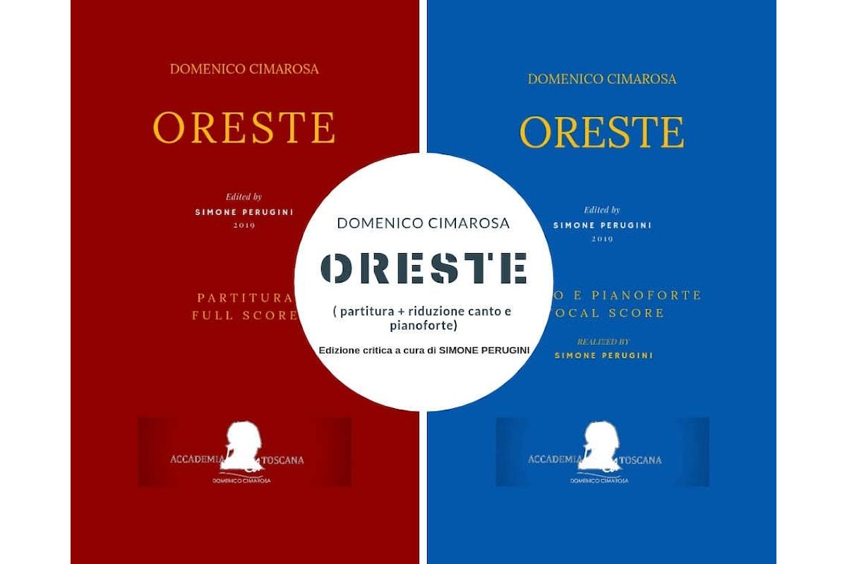 Oreste di Cimarosa: pubblicata l'edizione critica dell'opera
