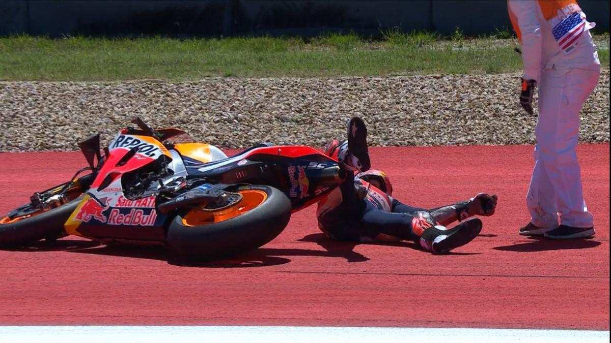 GP delle Americhe 2019, Marquez cade, vince Rins e Rossi è secondo