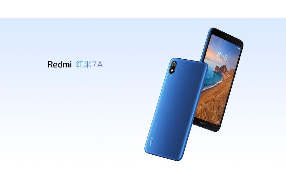 Redmi 7A presentato ufficialmente: a meno di 80 euro è impossibile trovare uno smartphone migliore
