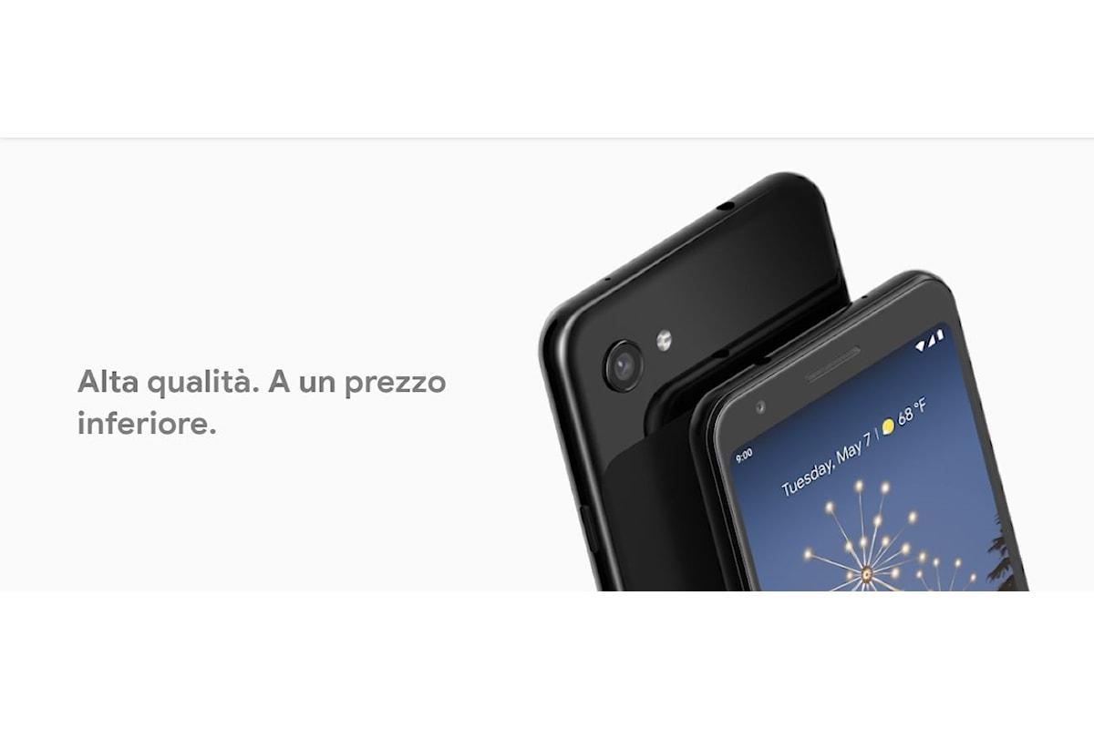 Google Pixel 3a e Google Pixel 3a XL presentati ufficialmente: l'elevata qualità dei Google Pixel ad un prezzo inferiore