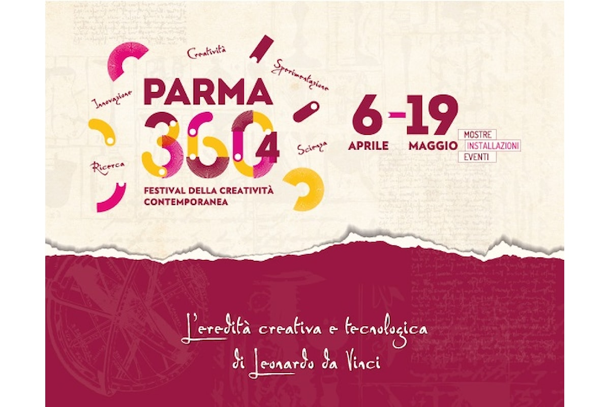 Festival della creatività contemporanea VI edizione Parma 360, fino al 19 maggio