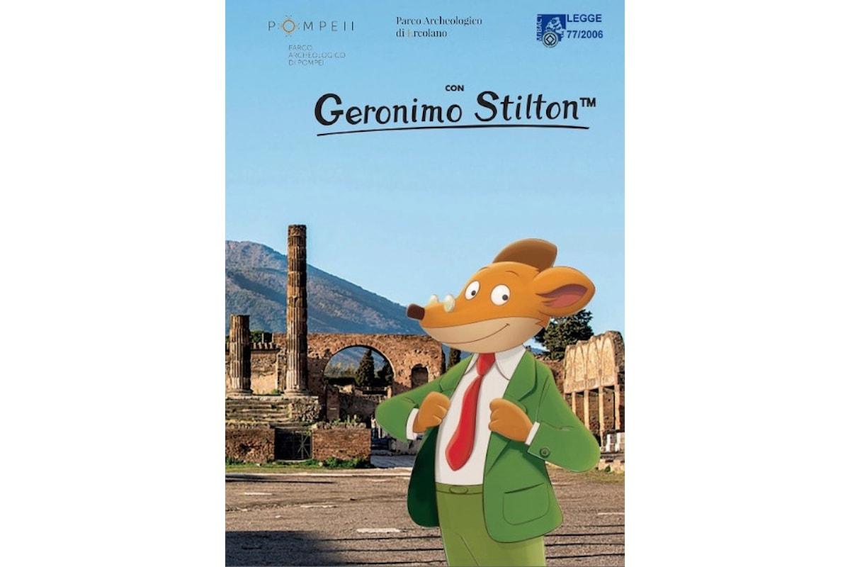 """Presentata da Geronimo Stilton la guida e le mappe del Sito UNESCO 829: Aree archeologiche diPompei, Ercolano, Torre Annunziata"""""""
