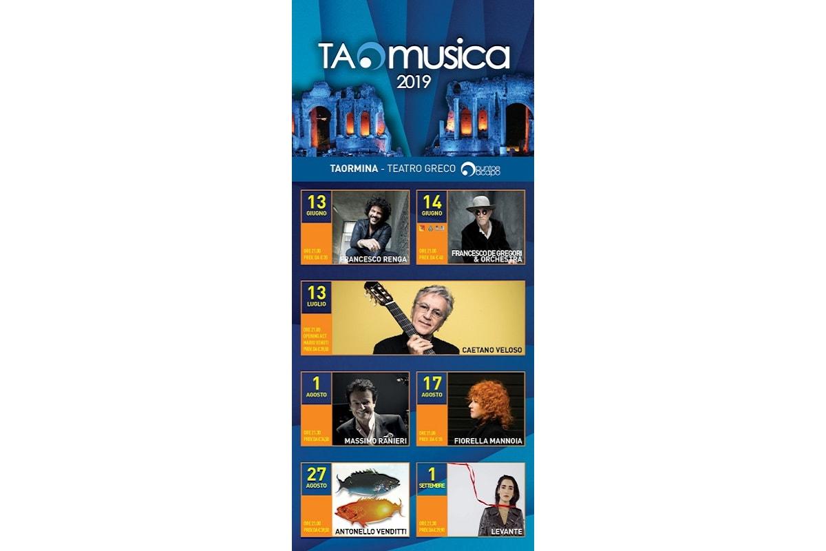 TAOmusica: I concerti dell'estate Siciliana al Teatro Greco di Taormina
