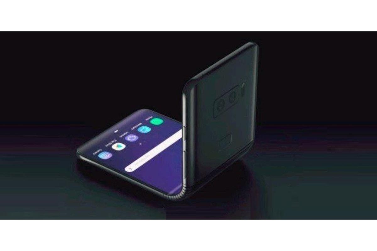 In futuro Samsung potrebbe proporre uno smartphone a conchiglia con display pieghevole per sfidare il Moto RAZR V4