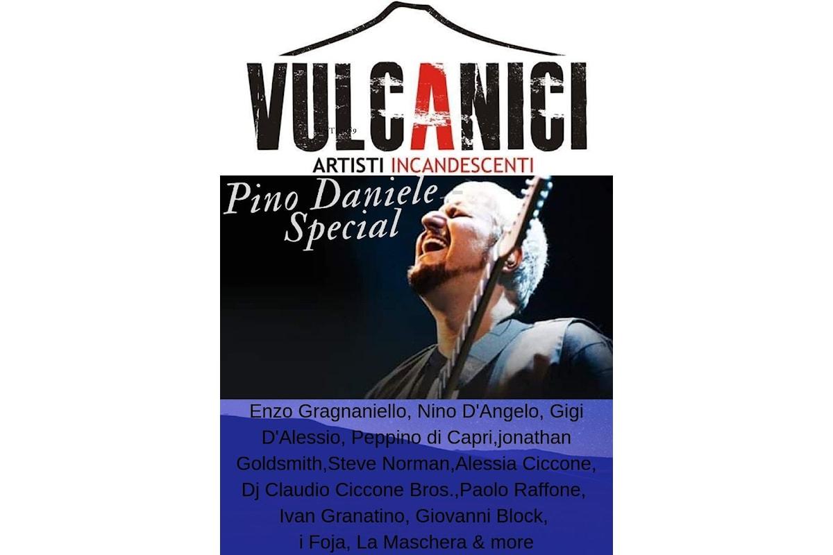 Vulcanici Artisti Incandescenti omaggia Pino Daniele