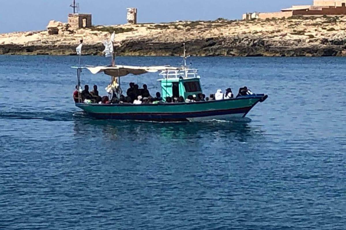 5 agosto, 62 migranti hanno raggiunto Lampedusa con sbarchi autonomi