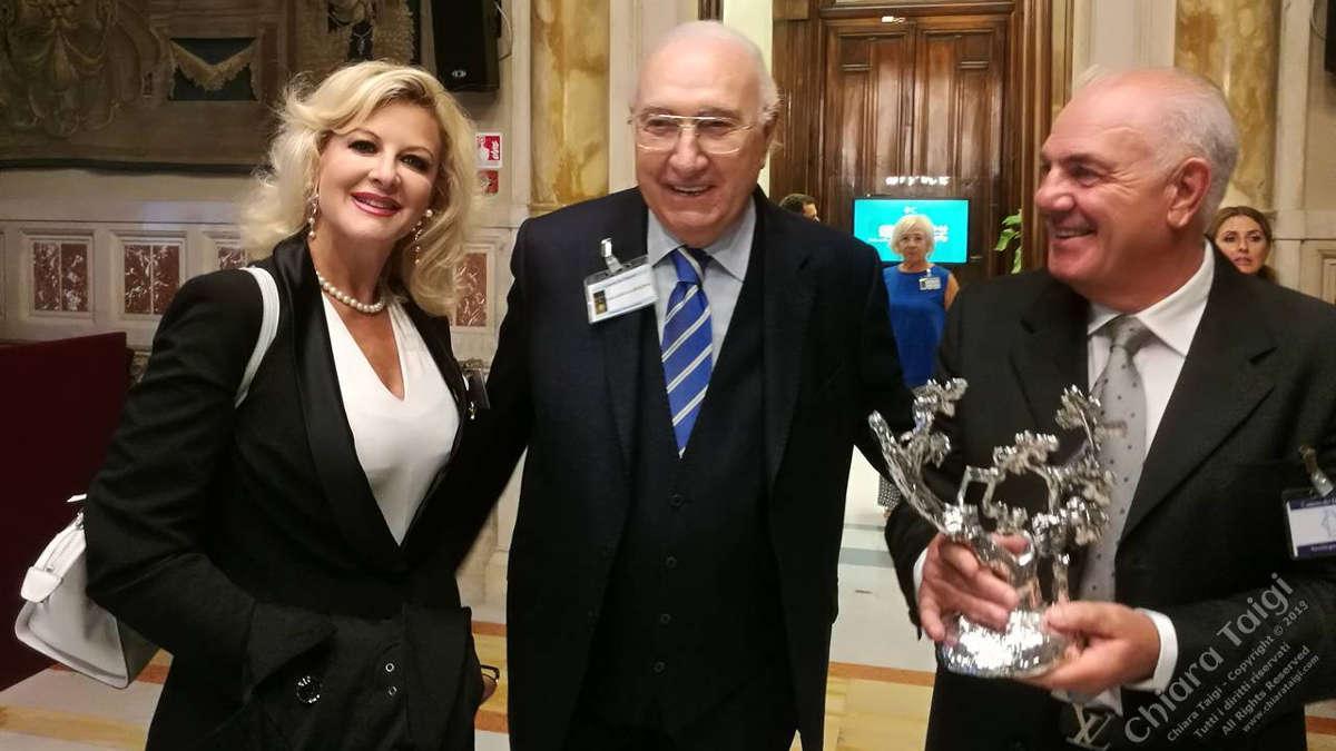 CHIARA TAIGI al Premio Vigna D'Argento 2019. La Regina dell'Opera nella Sala della Regina a Montecitorio