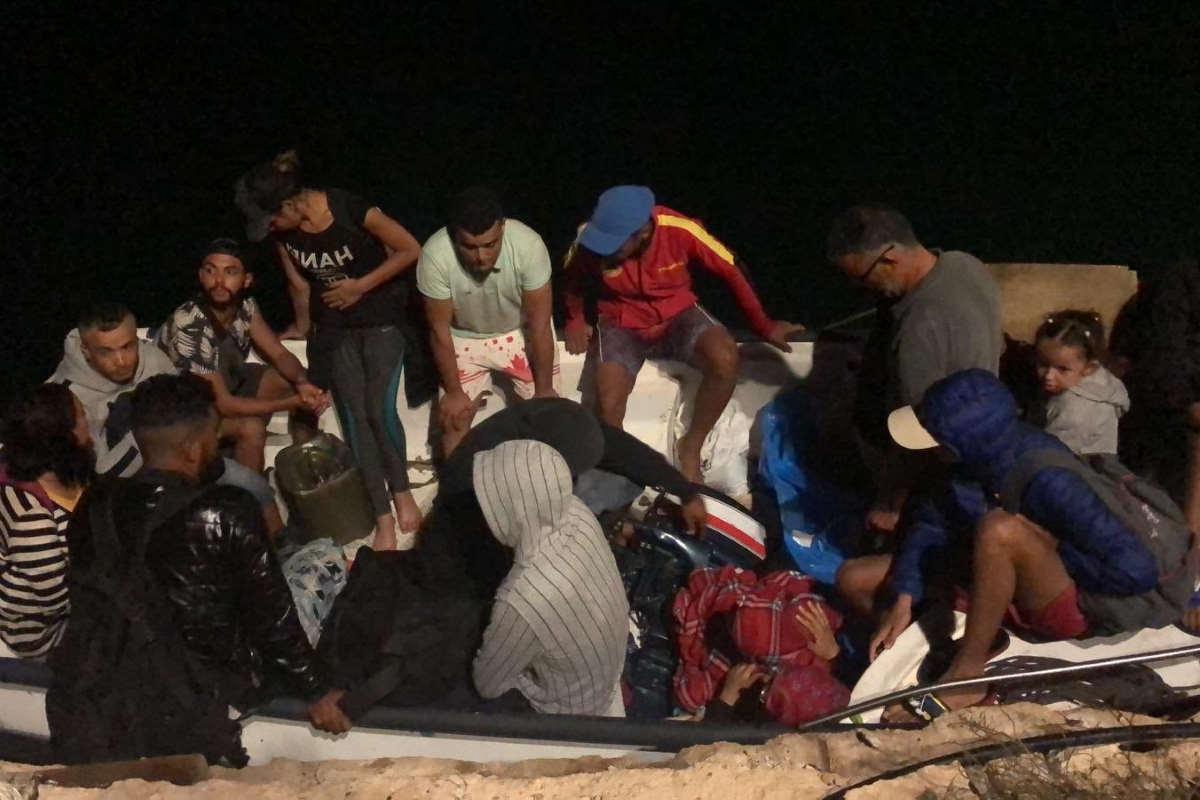 Nella notte 7 sbarchi a Lampedusa, mentre sono state soccorso le 56 persone che si temeva naufragate davanti alla Libia