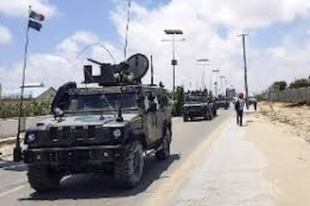 Somalia: attacco a convoglio di mezzi militari italiani