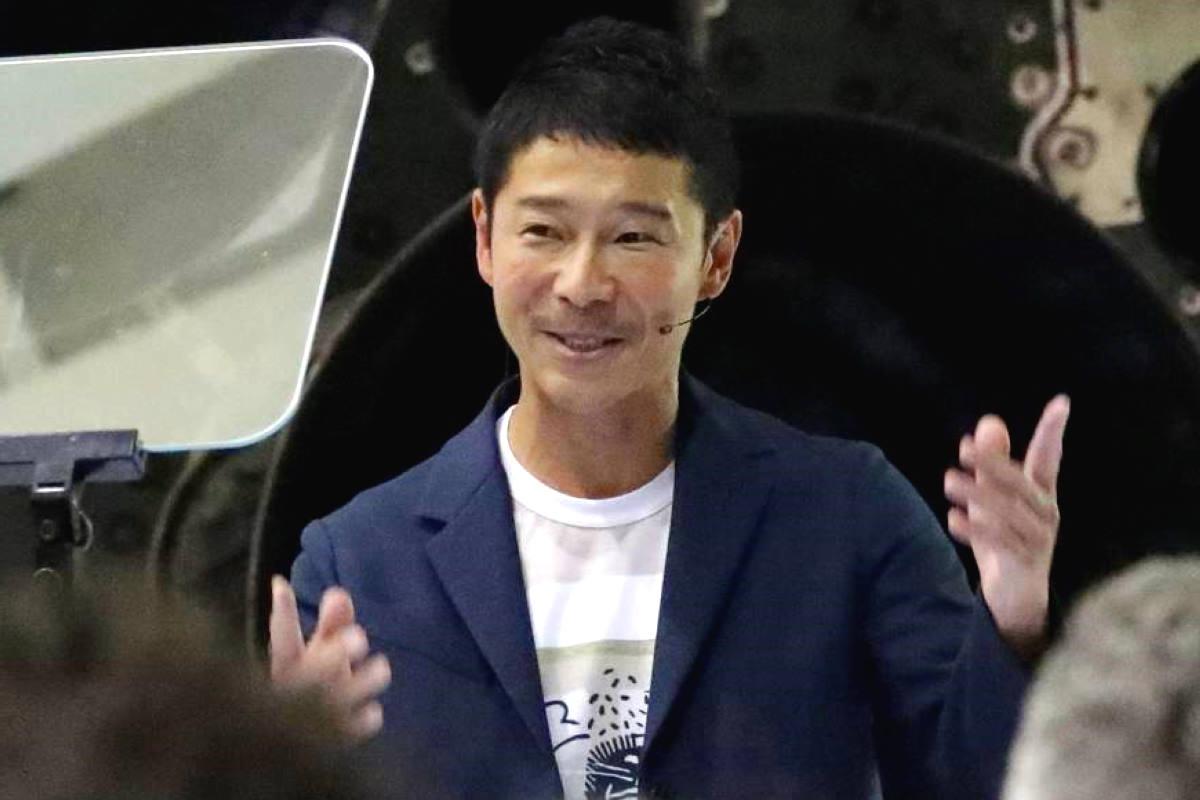 Il miliardario giapponese Maezawa lascia Zozo per concentrarsi sulla preparazione per la missione circumlunare del 2023 sulla Starship di SpaceX