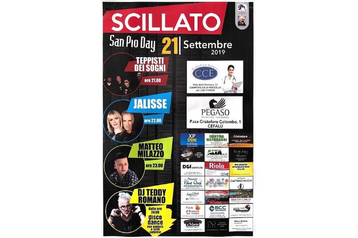 San Pio Day: musica e intrattenimento per tutte le generazioni pensando al santo di Pietrelcina. L'evento si terrà il sabato 21 settembre a Scillato.