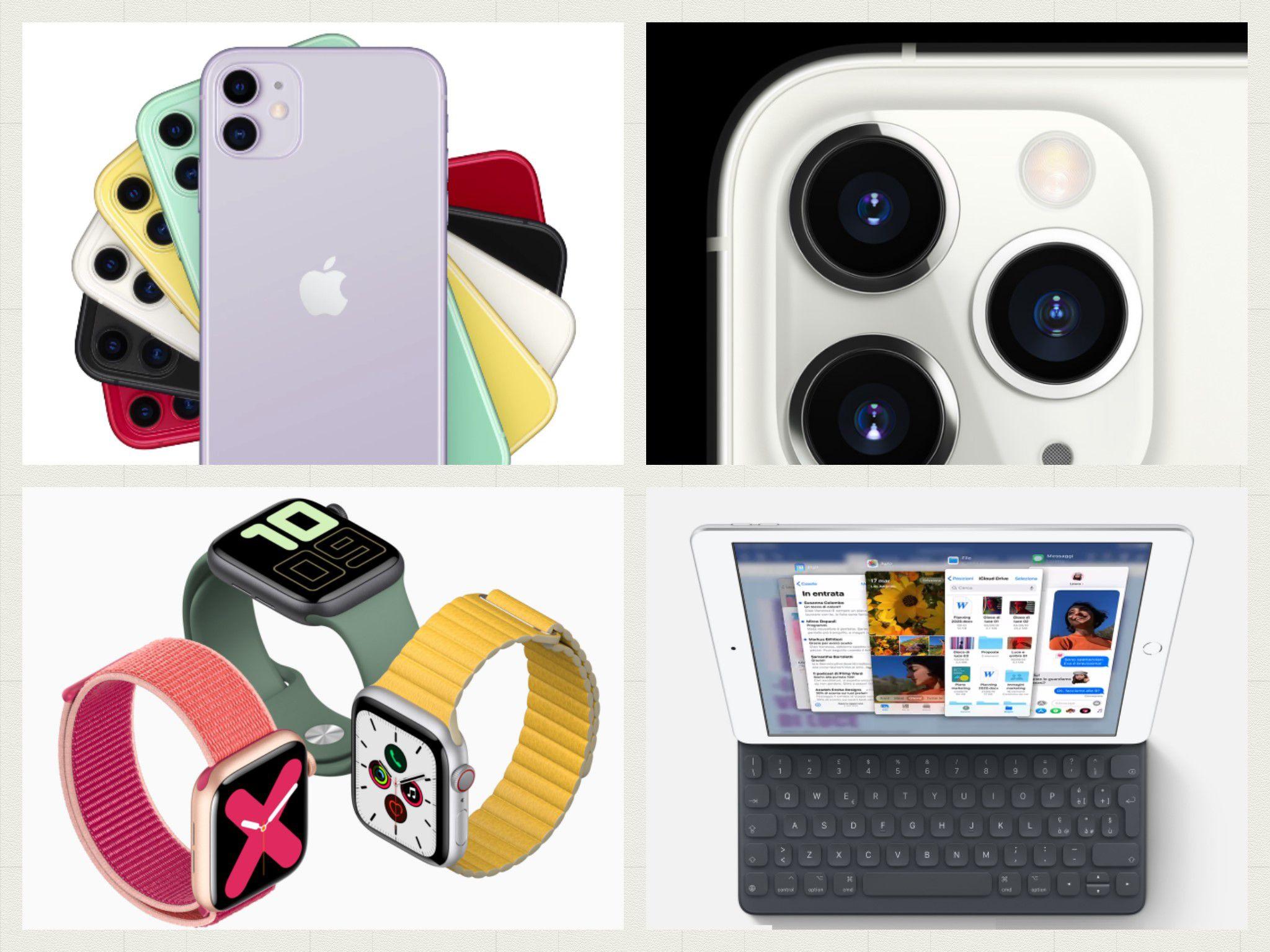 Apple Event: presentati i nuovi iPhone 11, iPhone 11 Pro ed iPhone 11 Pro Max, l'iPad 7 e l'Apple Watch Series 5