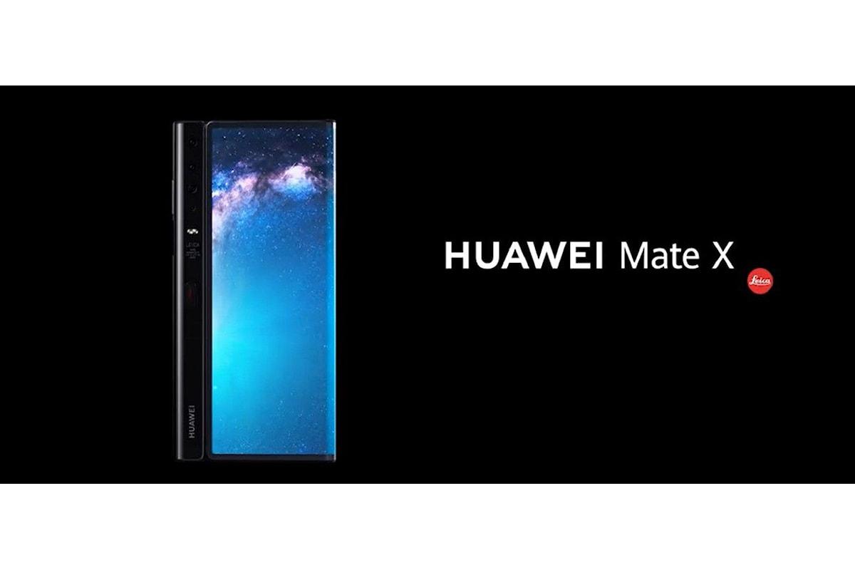 Huawei ha annunciato la data di commercializzazione del Mate X e la disponibilità nel 2020 anche di un Mate Xs