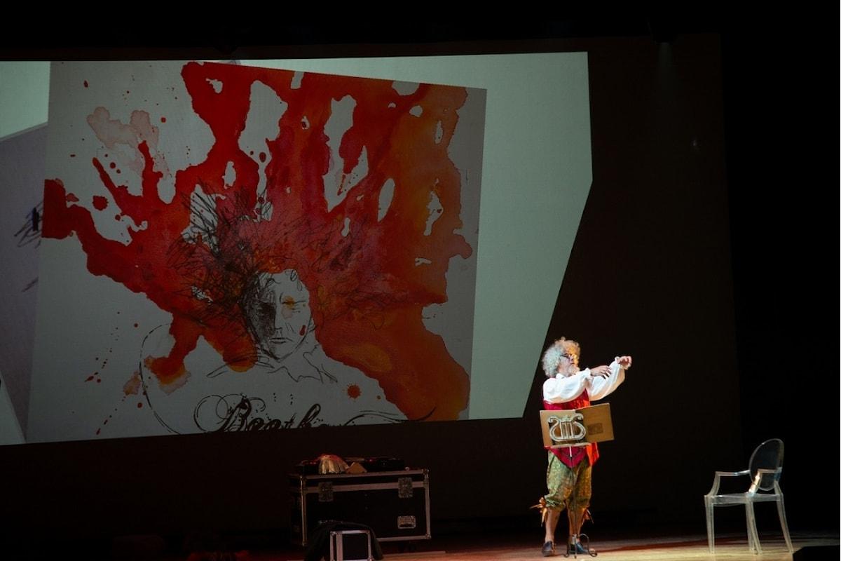 BEETHOVEN NON E' UN CANE, ma Migone è al Teatro Manzoni