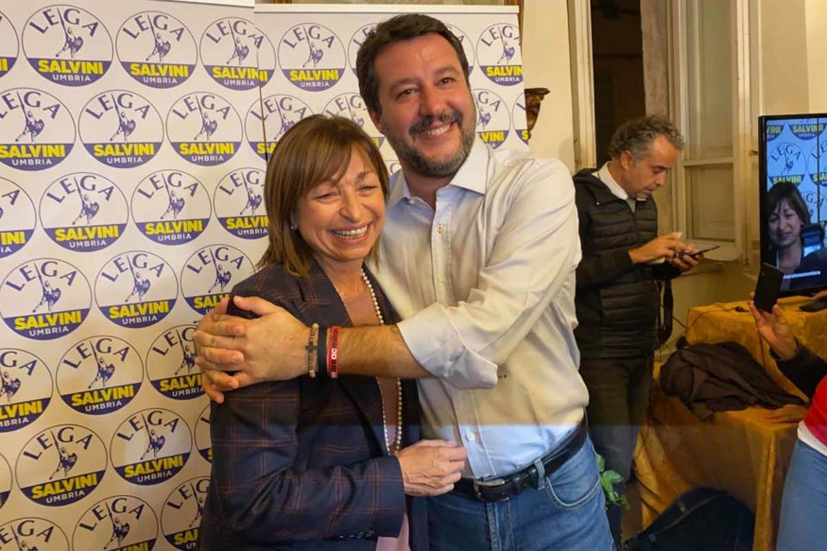 Il pericoloso partito contro dei sovranisti italiani ha stravinto le elezioni regionali in Umbria
