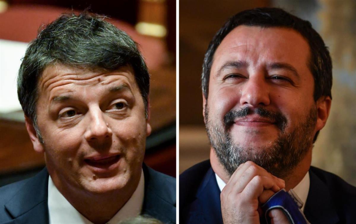 Renzi e Salvini due facce della stessa medaglia