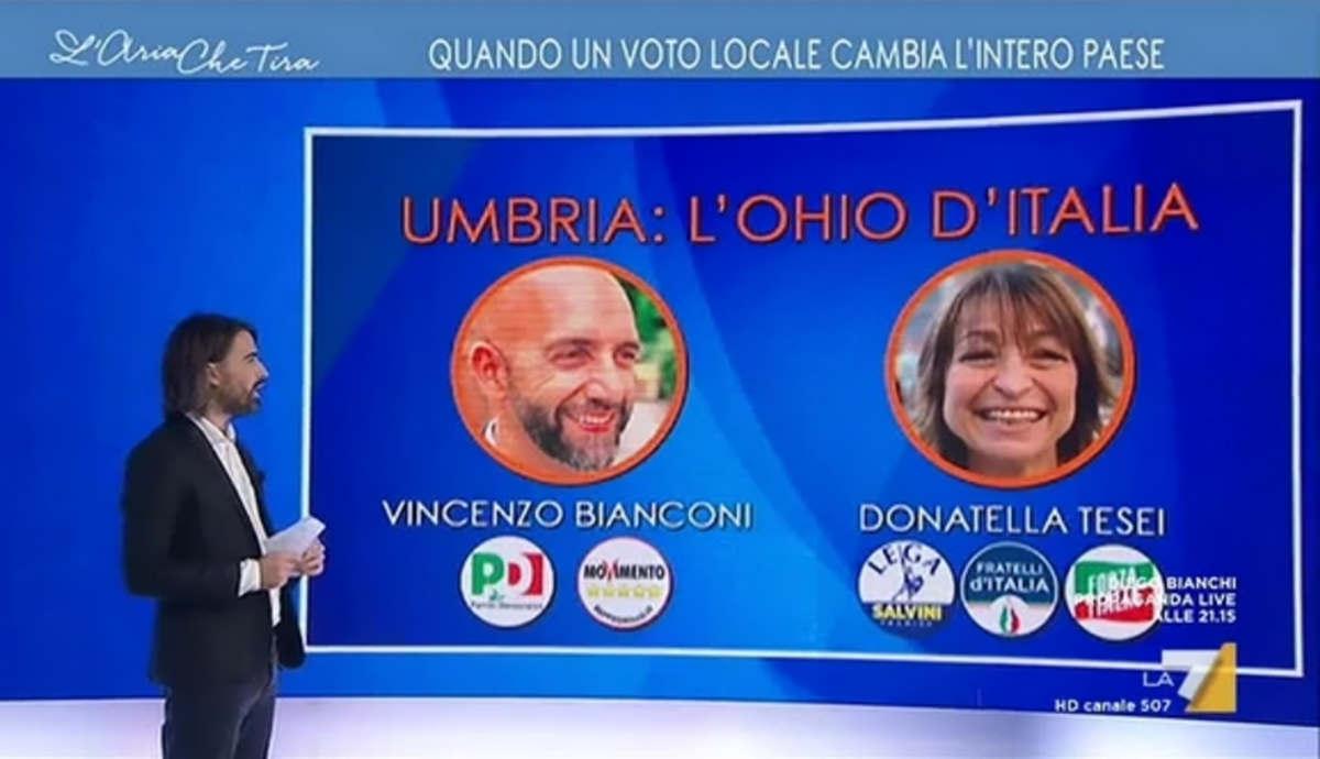 In Umbria si vota per le regionali, ma agli italiani viene fatto credere che siano le politiche