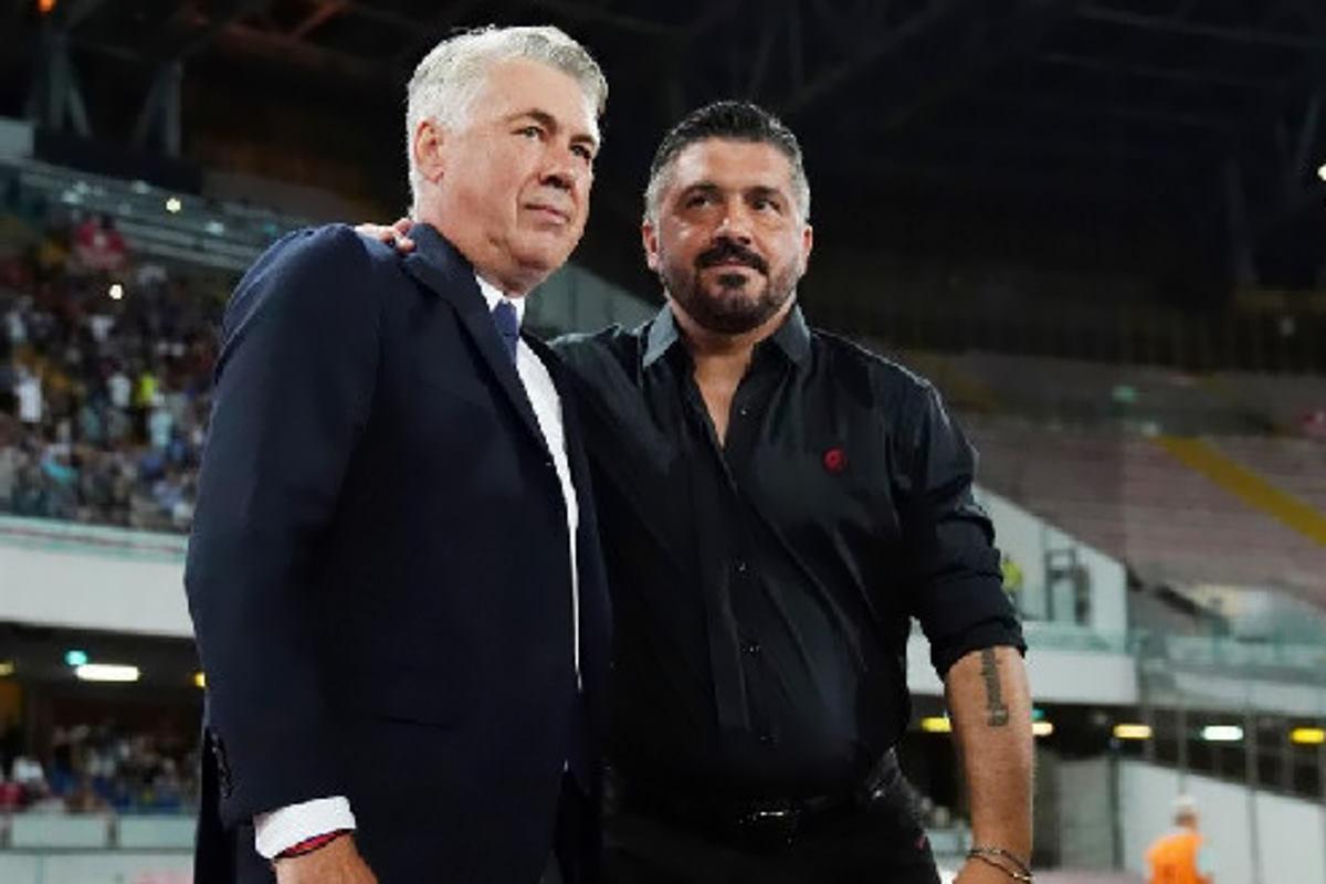 Il Napoli cambia: Ancelotti out, Gattuso in