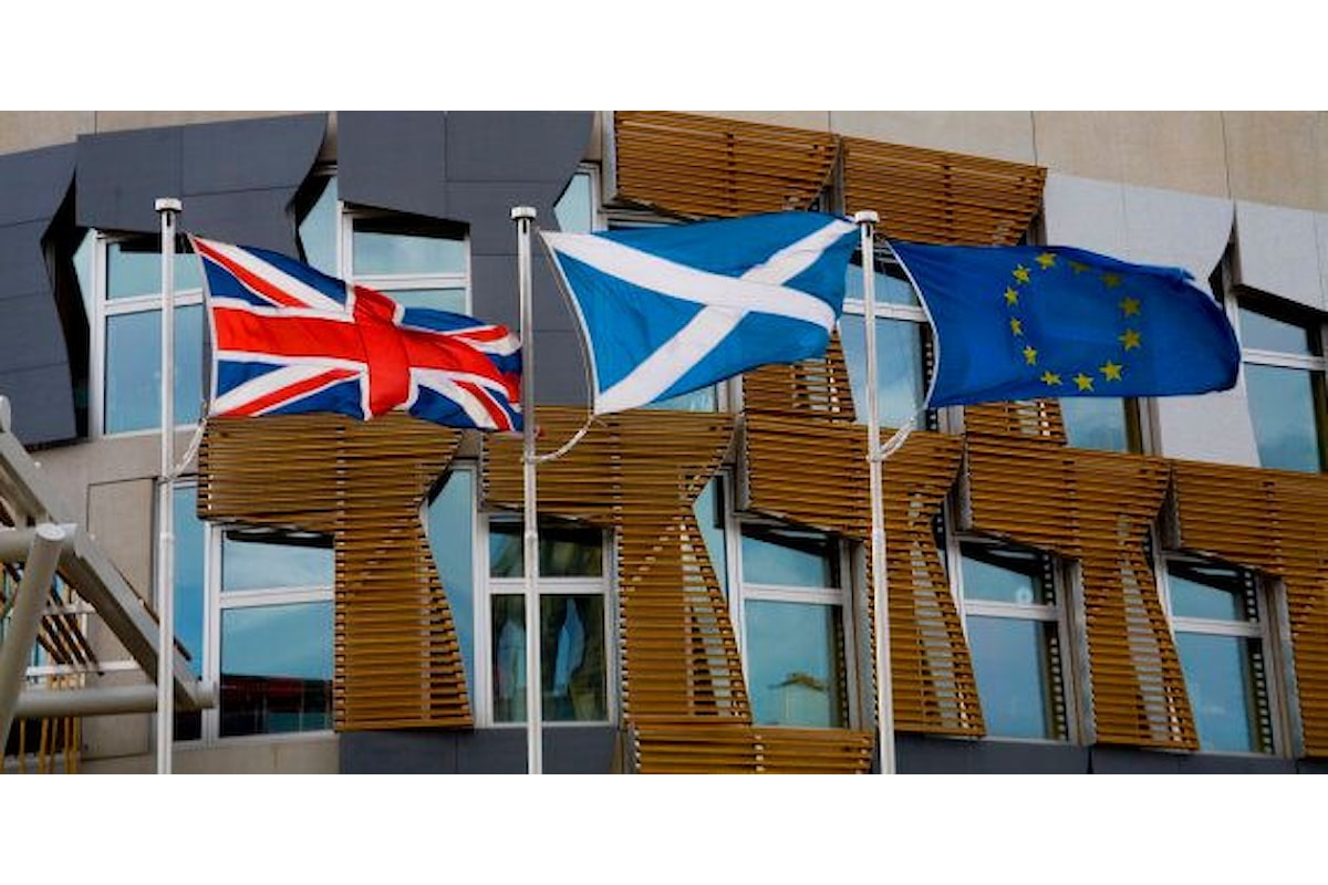 Brexit per il regno Unito ma non per la Scozia