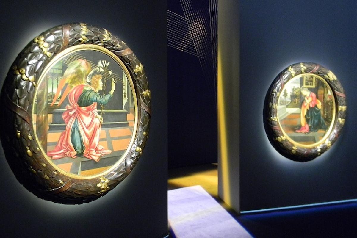 """Filippino Lippi """"L'ANNUNCIAZIONE"""" Milano, Palazzo Marino, ultimi giorni fino al 12 gennaio 2020"""