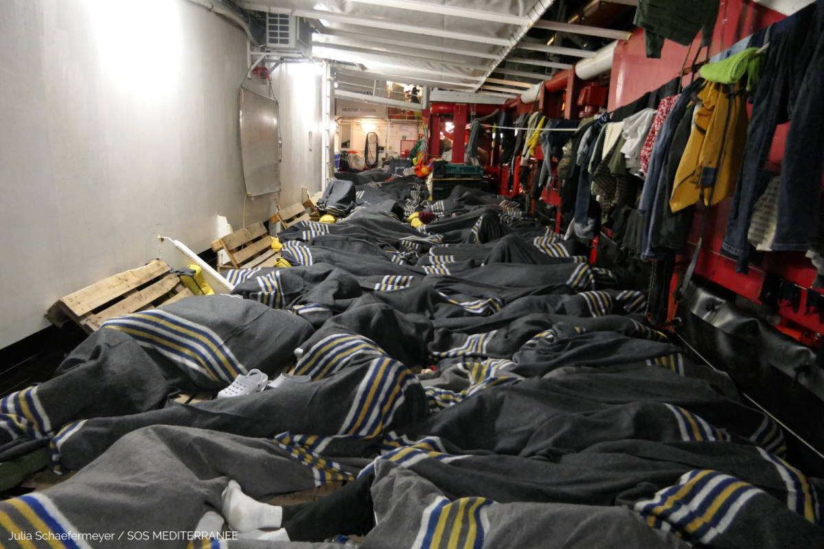 Ocean Viking e Alan Kurdi: circa 500 persone in attesa di un porto sicuro