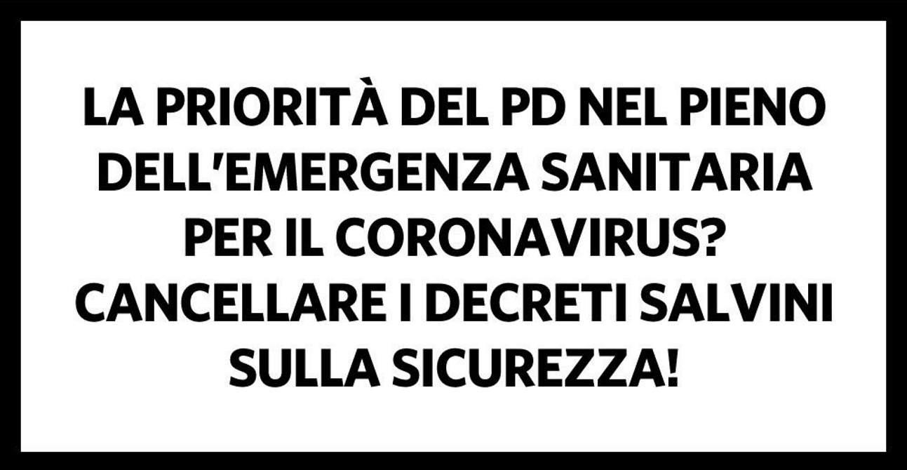 Nicola Zingaretti: è giunto il momento di superare senza se e senza ma i dicreti sicurezza