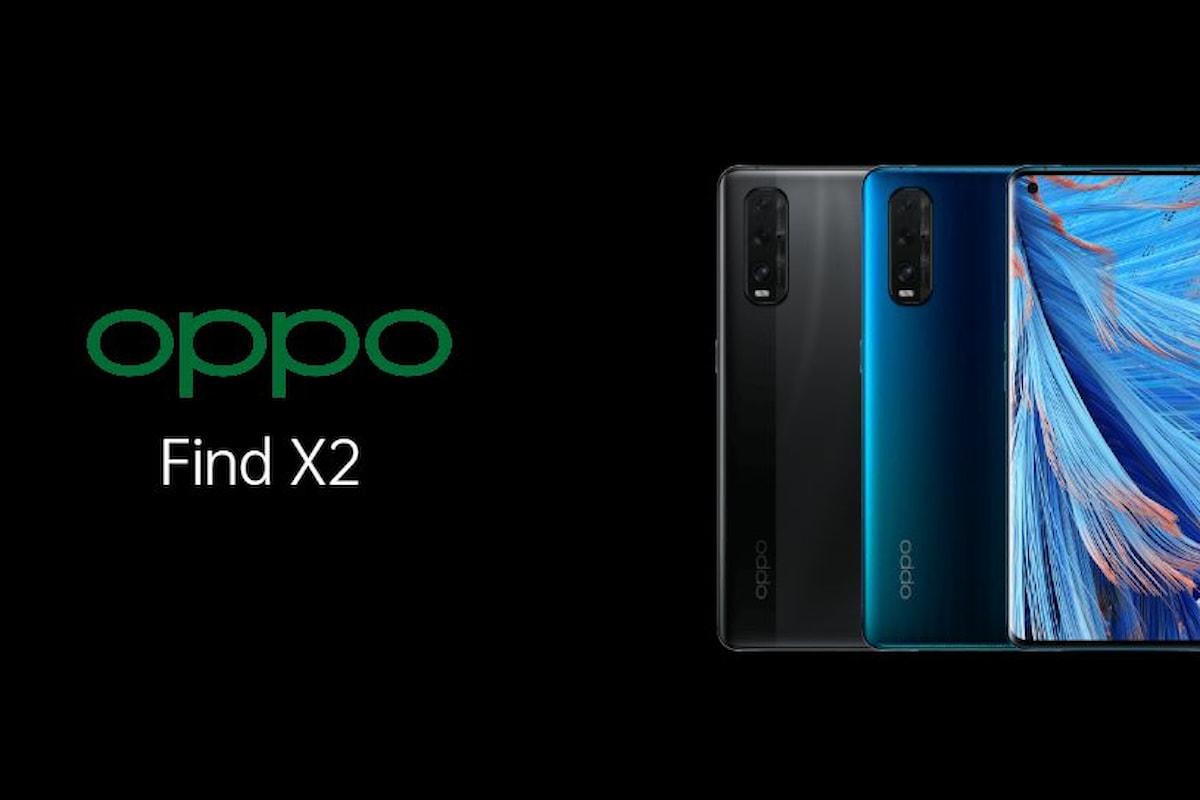 OPPO Find X2 ufficiale: uno smartphone interessante che però non verrà venduto ufficialmente in Italia