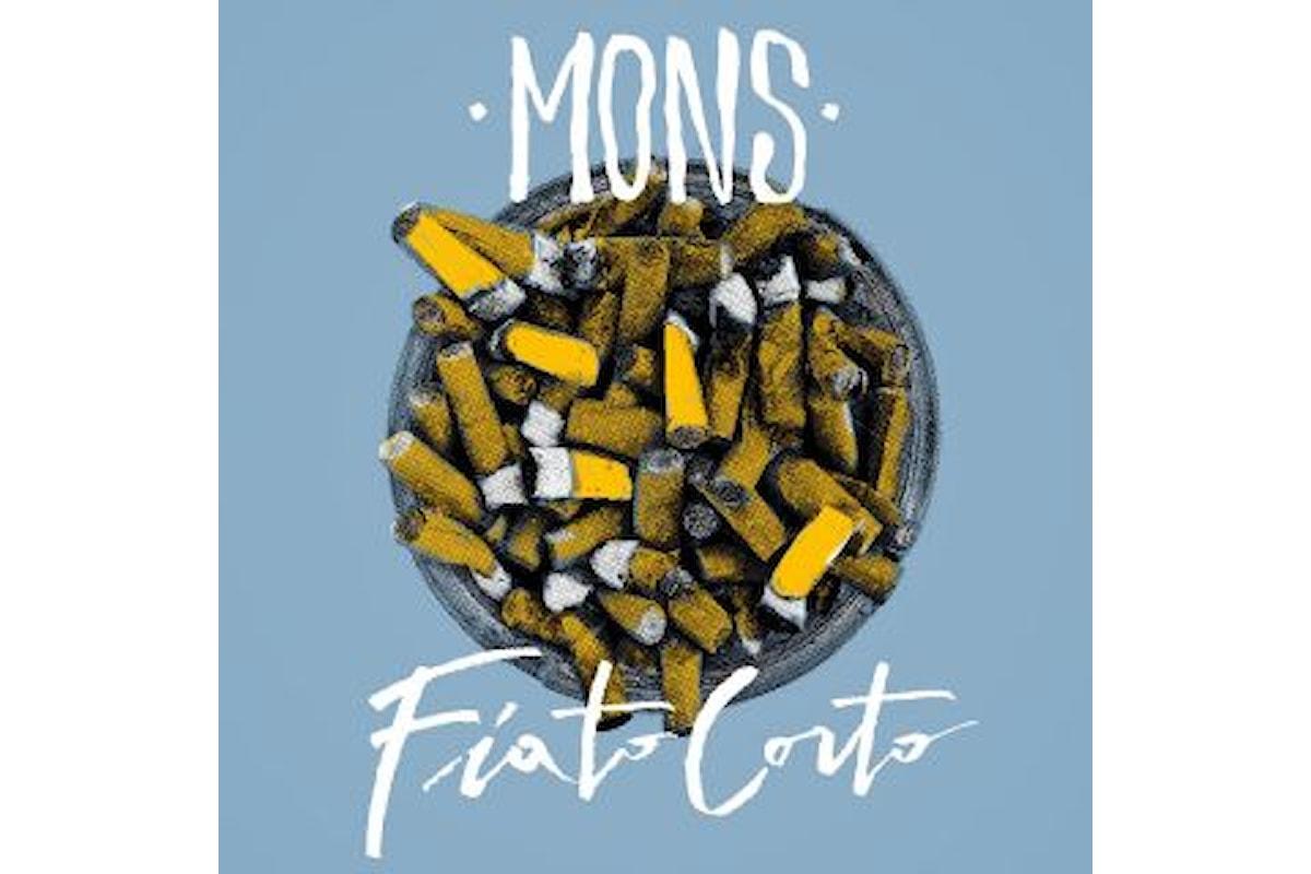 """Mons """"Fiato Corto"""" è il singolo che presenta l'album d'esordio """"Non può piovere per sempre"""""""