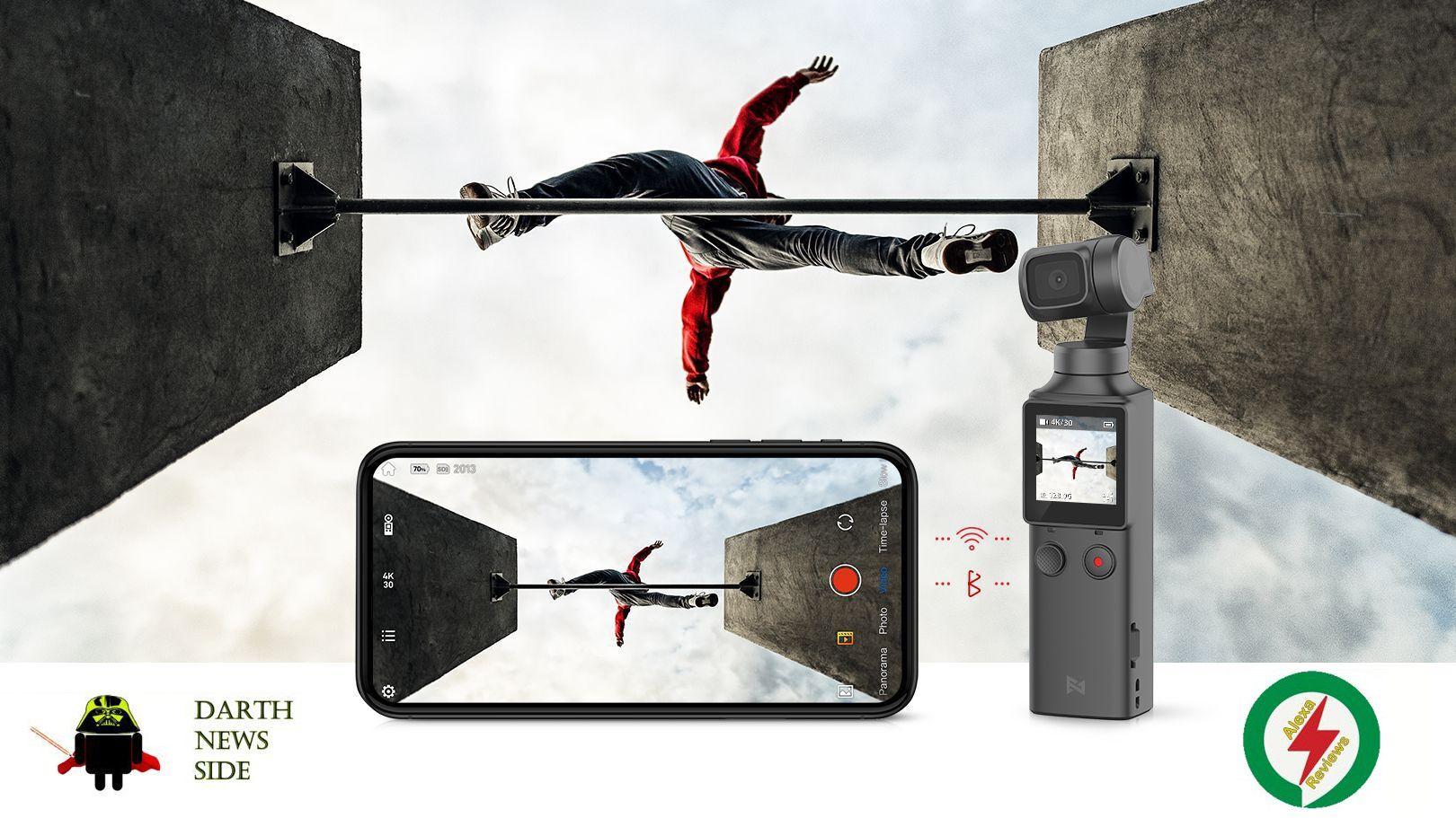 Recensione Xiaomi FIMI PALM: sembra un DJI Osmo Pocket, ma non è un clone e costa molto meno