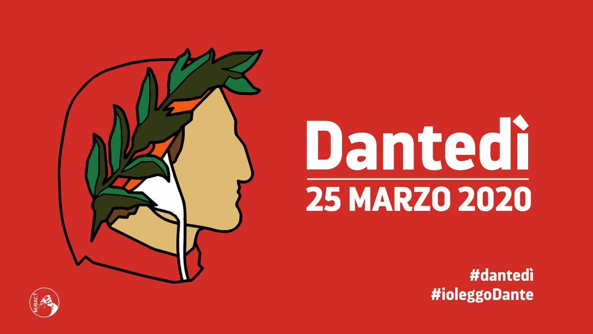 #Dantedì e #ioleggoDante la prima Giornata dedicata a Dante Alighieri