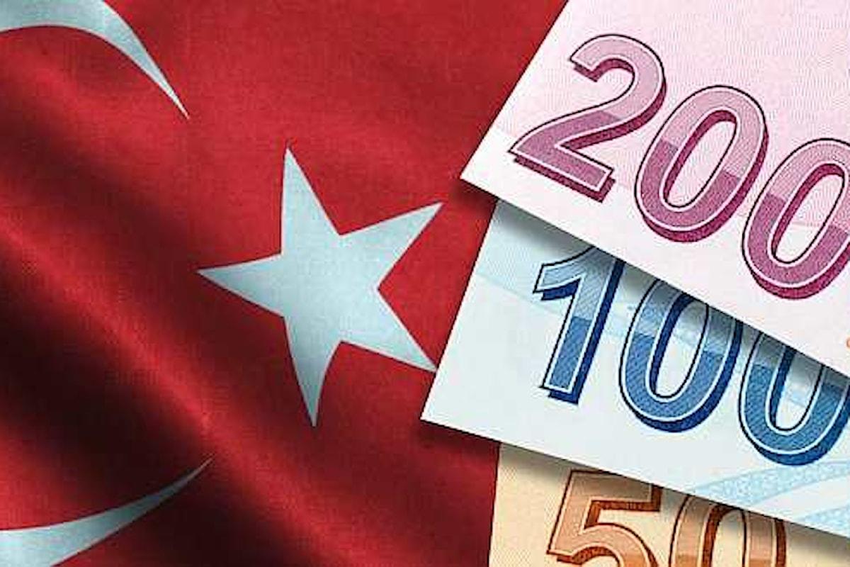 Costo del denaro, la Banca Centrale della Turchia effettua una nuova sforbiciata