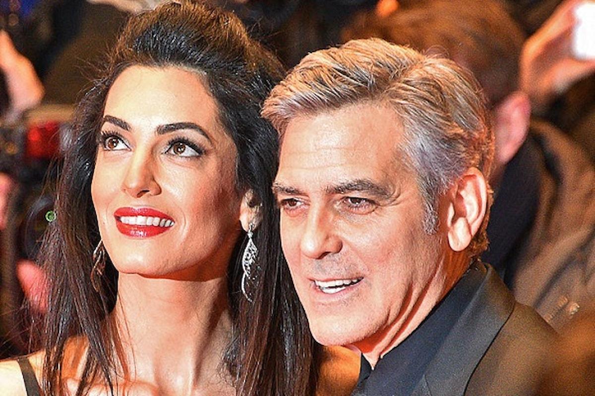 George Clooney e Amal donano 1 milione di dollari (parte anche alla Lombardia) per combattere il coronavirus