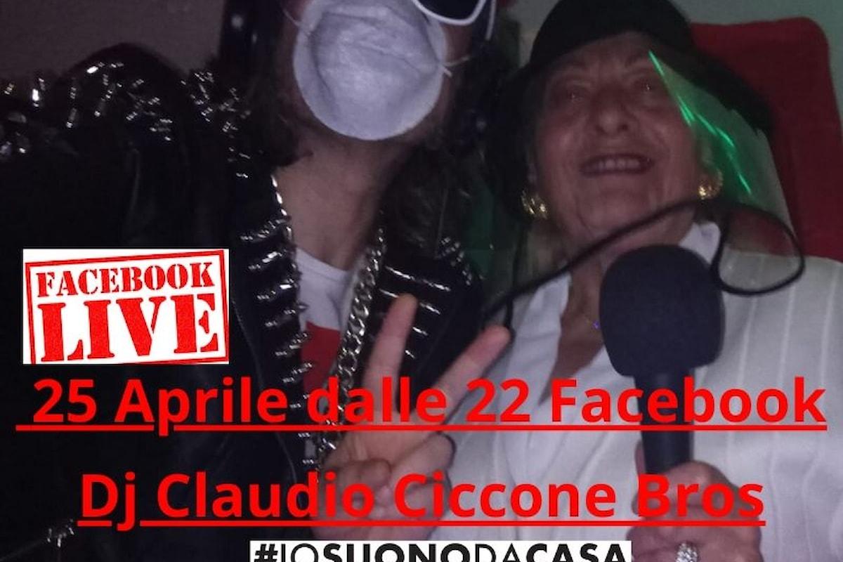 Mamma Bella Ciao e Dj Claudio Ciccone Bros. uniti a tutta Italia per il 75° anniversario della Liberazione