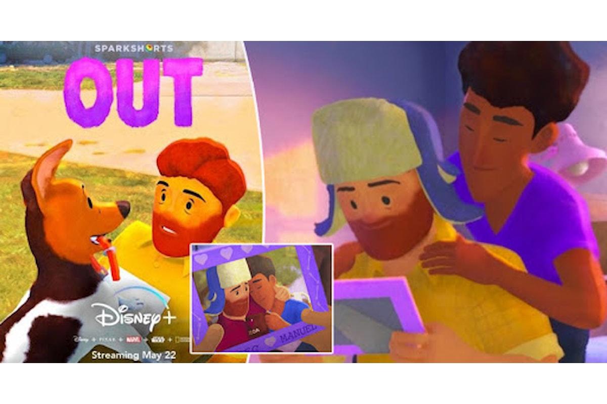 """""""OUT"""" Il primo corto a tematica gay della Pixar"""