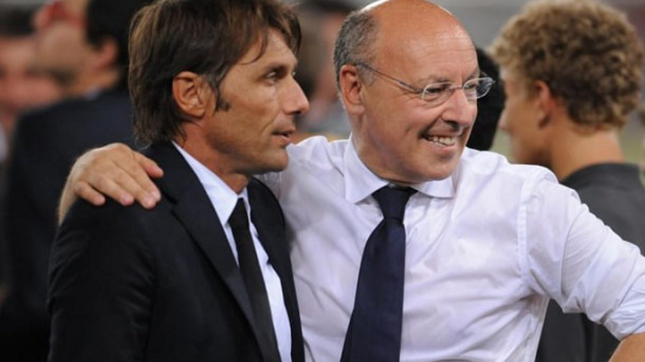Inter, Conte pressa Marotta.