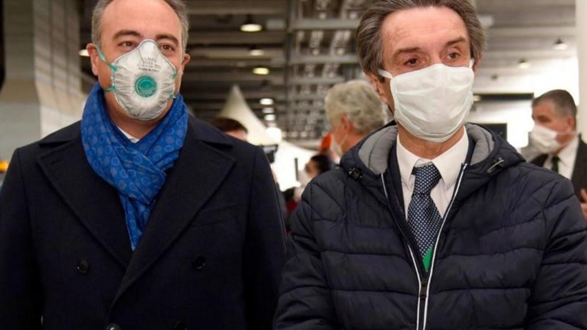Gallera e Fontana sono stati sentiti dalla Procura di Bergamo per l'emergenza Covid