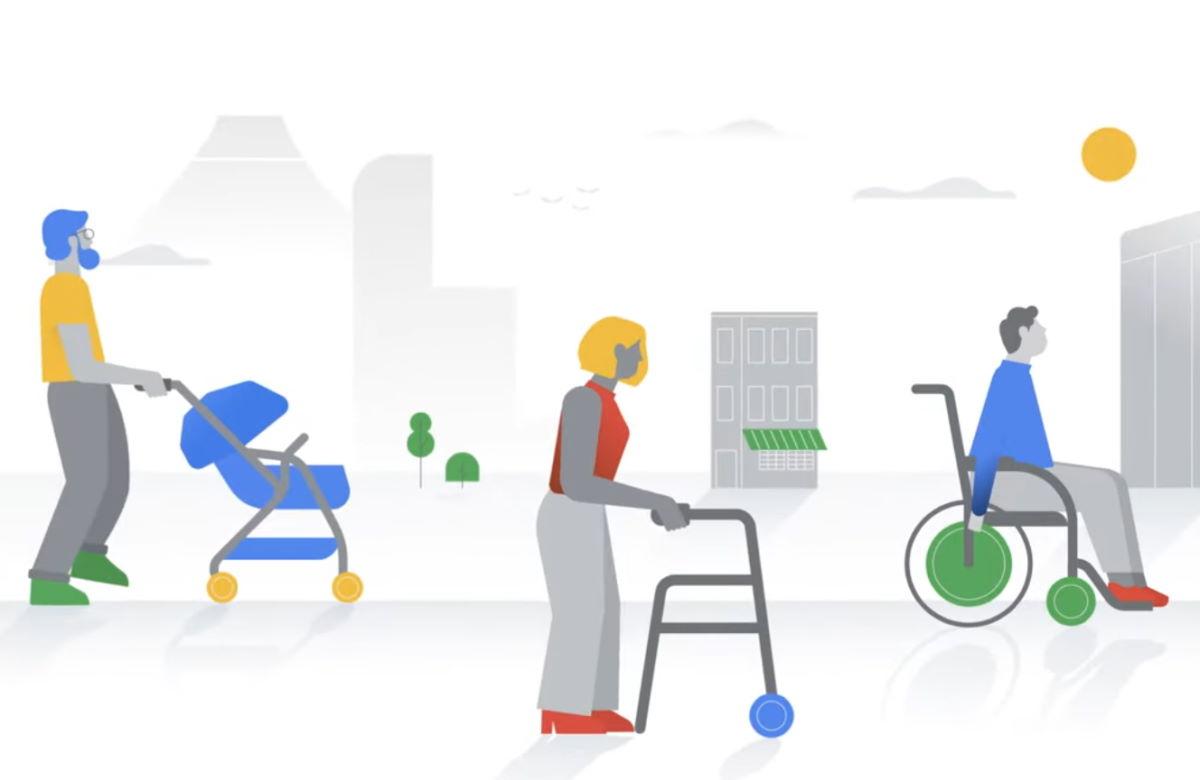 Google maps: una nuova funzione indica i luoghi fruibili da persone disabili