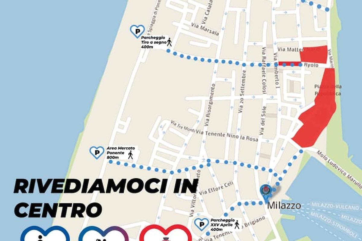 Milazzo (ME) – Al via l'isola pedonale