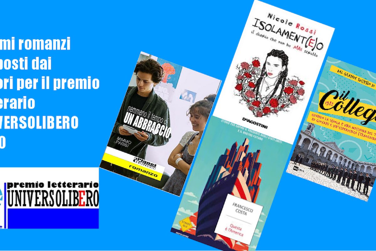 Primi titoli in gara per il premio letterario Universolibero 2020