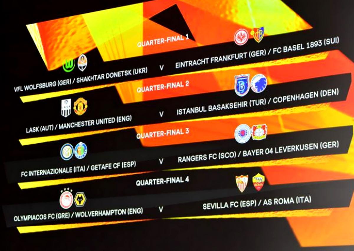 L'esito del sorteggio per la fase finale di Europa League: stadi, date e orari dove si svolgeranno le partite