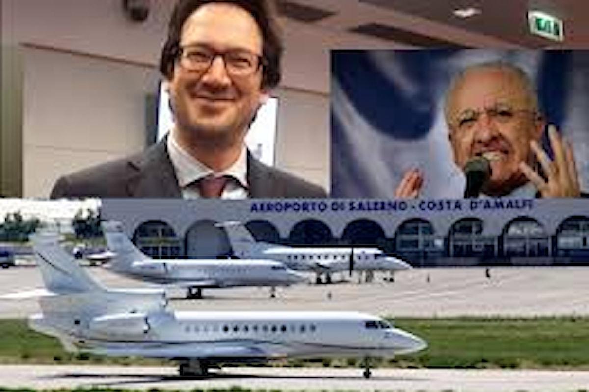 I proclami elettorali del consigliere 5 Stelle Cammarano sull'aeroporto costa D'amalfi, ma la verità è diversa da ciò che lui propaganda