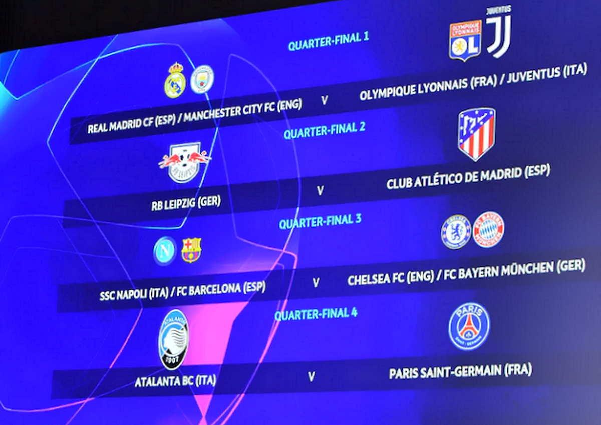 Sorteggiati gli accoppiamenti per la fase finale di Champions League. Ecco con chi giocheranno le italiane...