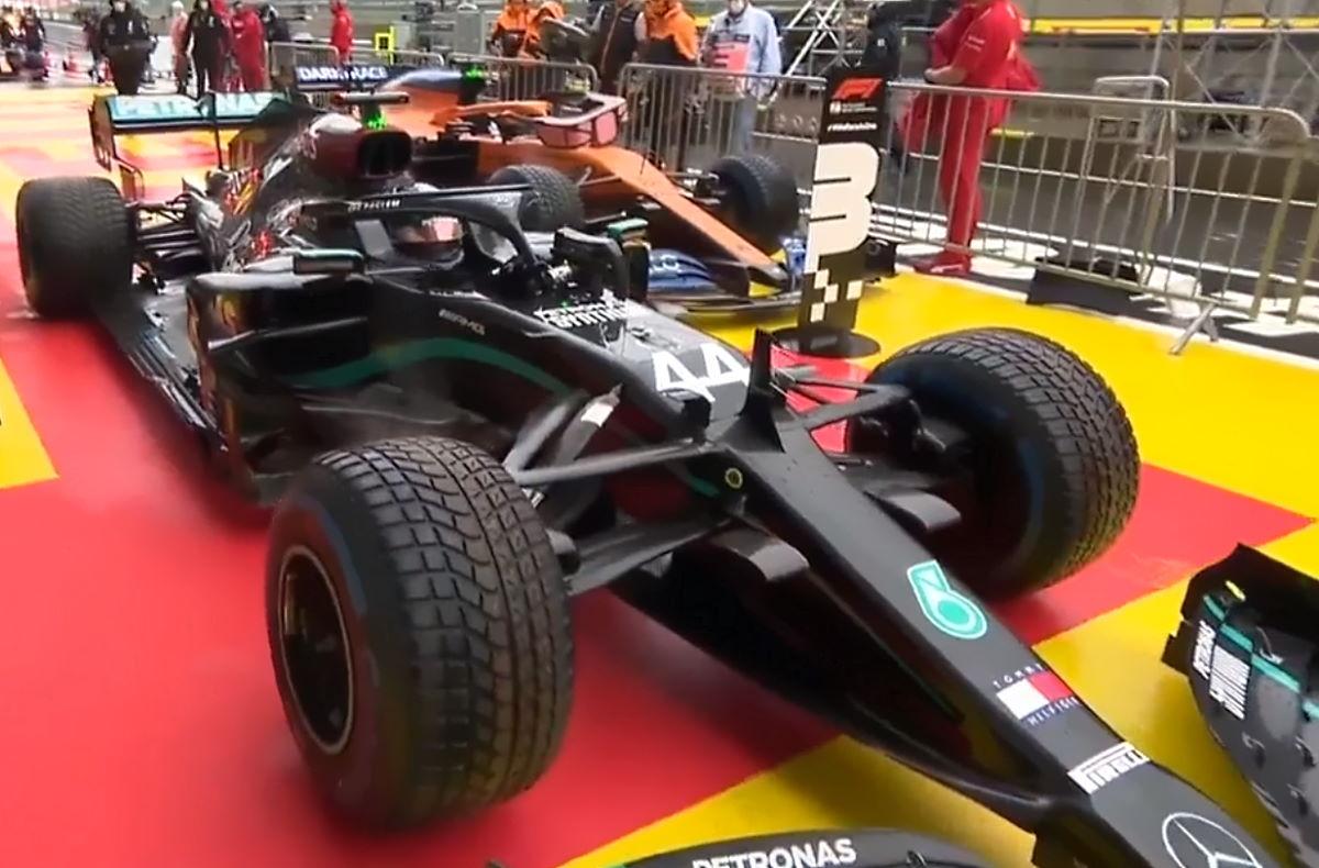 Ad Hamilton la pole nel Gran Premio della Stiria