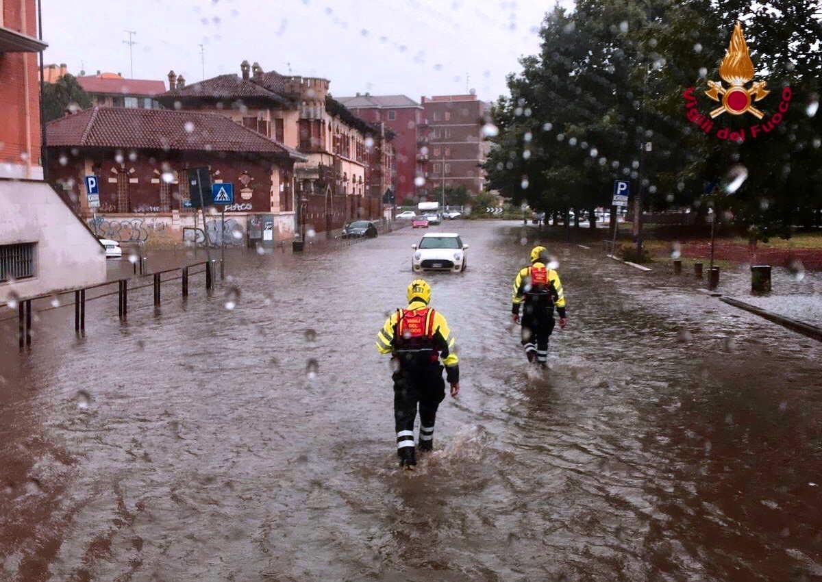 Per Salvini la pioggia di Milano è diversa dalla pioggia di Palermo