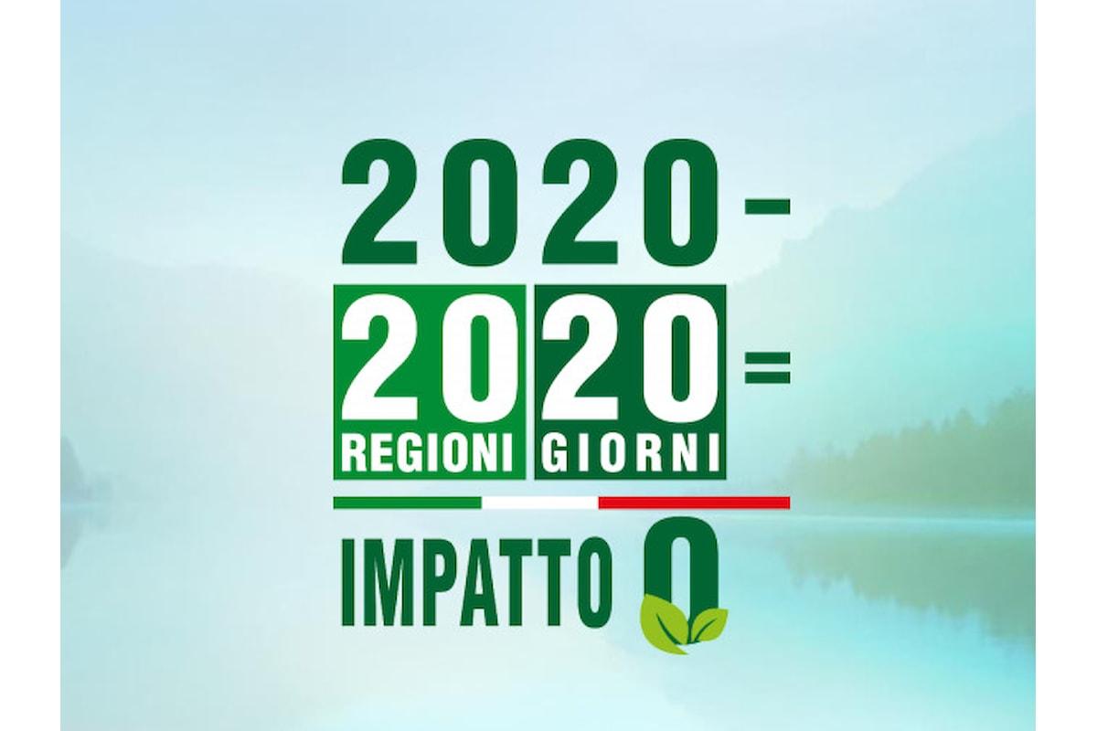In scooter elettrico in 20 regioni d'Italia in 20 giorni!