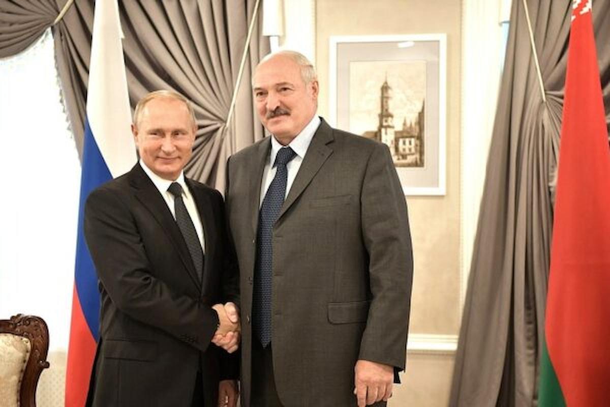 Putin ha minacciato un intervento armato in Bielorussia